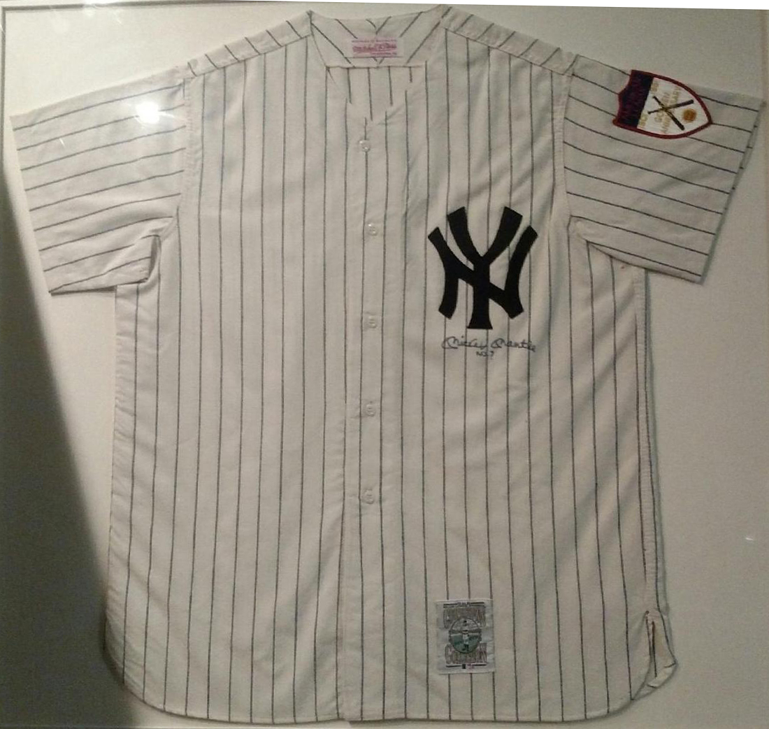 sneakers for cheap f5187 03c83 Mickey Mantle Autographed New York Yankees Jersey - JK Golf